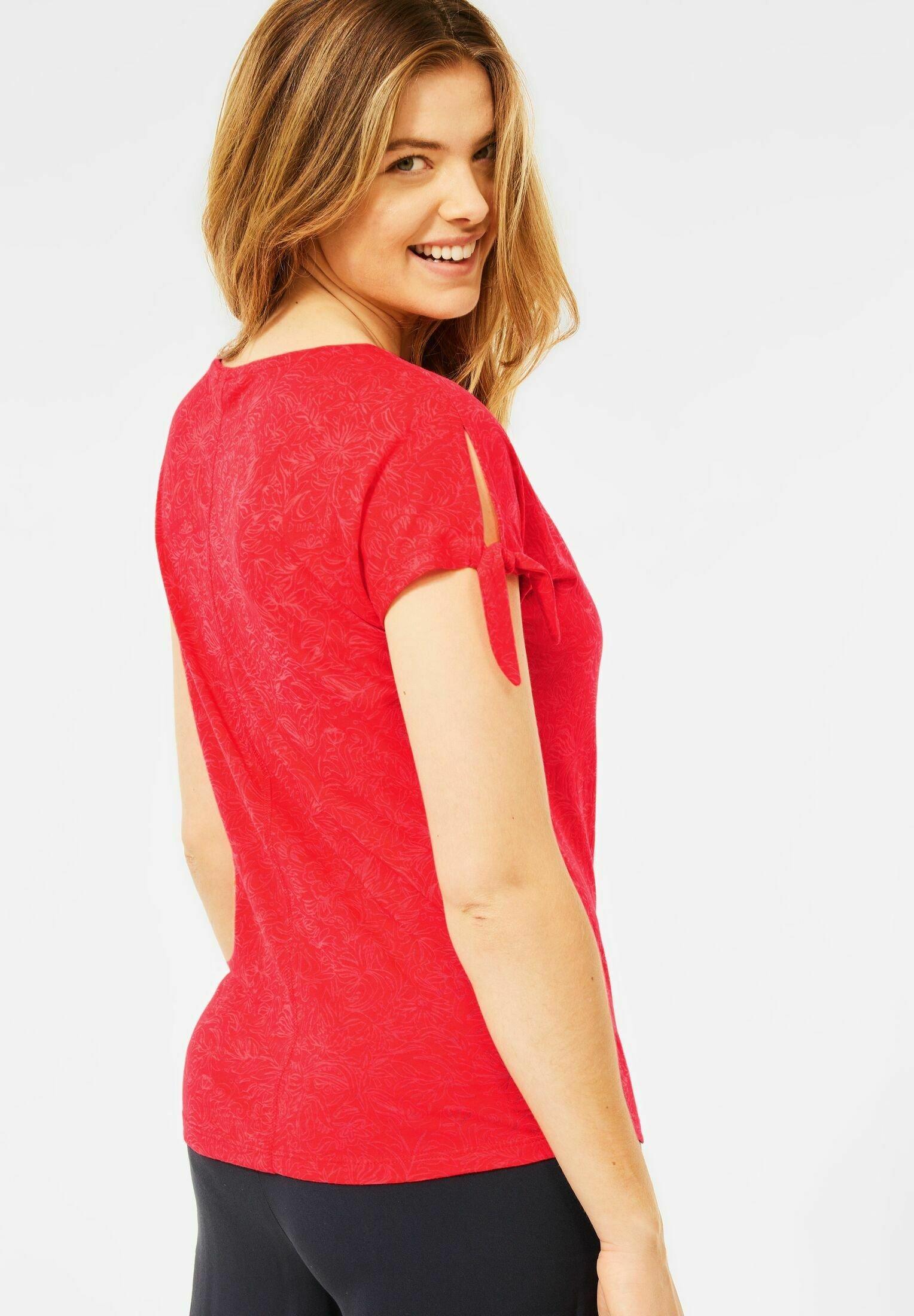 Damen BURNOUT OPTIK - T-Shirt print
