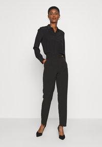 J.CREW TALL - BUTTON-UP SHIRT  - Bluse - black - 1