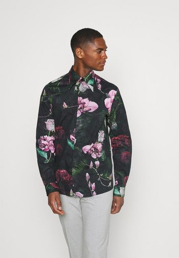 FACIONNE  - Košile - black/pink