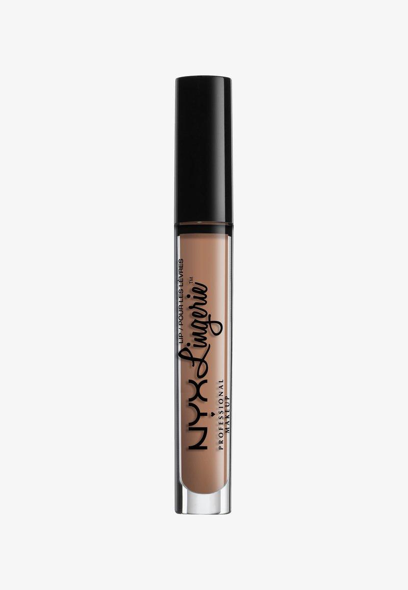 Nyx Professional Makeup - LINGERIE LIQUID LIPSTICK - Liquid lipstick - 9 corset