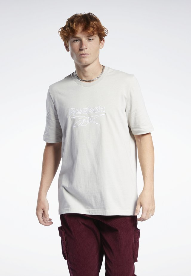 VECTOR TEE - T-shirt con stampa - sand stone