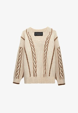 Jumper - brown