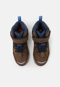 Finkid - KIVUTA UNISEX - Hiking shoes - brown/navy - 3