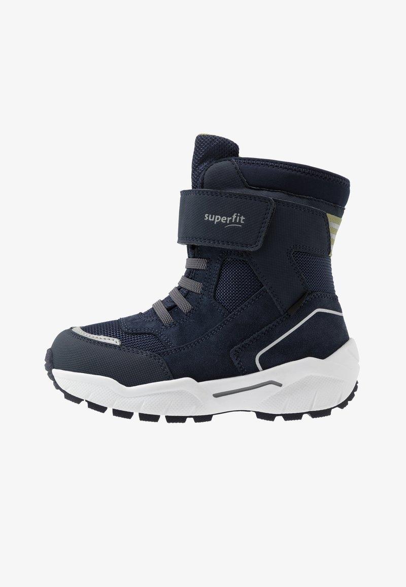 Superfit - CULUSUK - Zimní obuv - blau/grün
