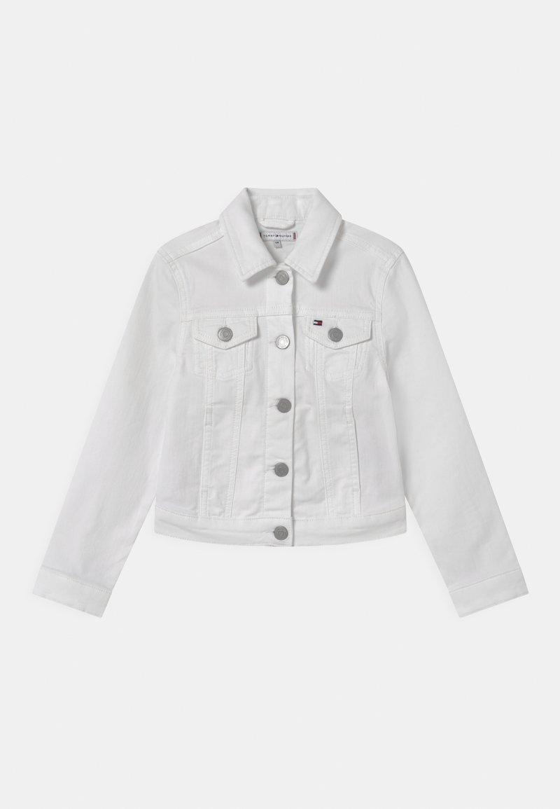 Tommy Hilfiger - REGULAR TRUCKER - Denim jacket - bright white