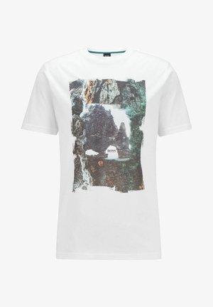 2P SL UNI CC - Print T-shirt - white