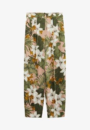 LEAF - Trousers - rosa