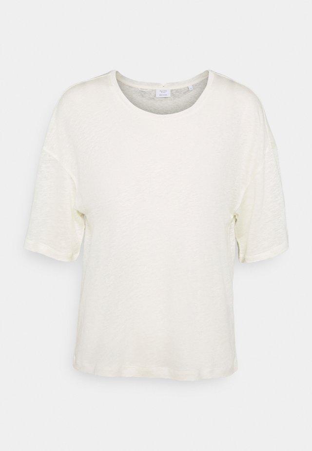 BOXY WIDE SLEEVES - T-shirt basic - off-white