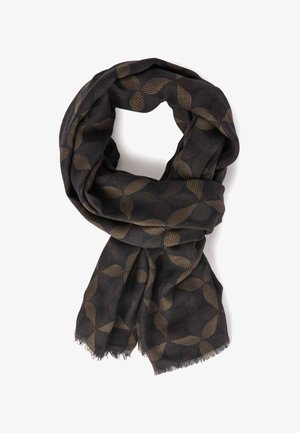 SOFT LEAF PRINT MODAL/CASHMERE  - Sjaal - brown