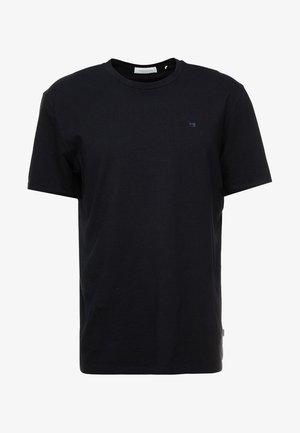 CREW NECK TEE - Jednoduché triko - black