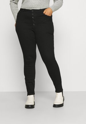 VMLOA  - Jeans Tapered Fit - black