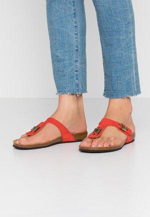BIMINOIS - T-bar sandals - fuego