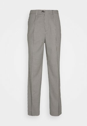 CONRAD CHECKED TROUSERS - Trousers - dark grey