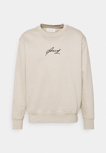 Sweatshirt - tan