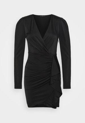 CHARMIAN DRESS - Vestito di maglina - jet black