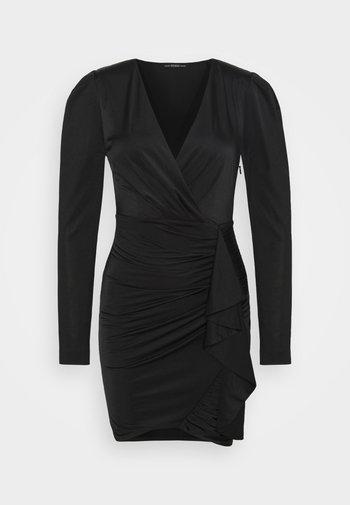 CHARMIAN DRESS - Jerseykjole - jet black