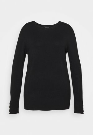 FOREST CUFF CREW NECK JUMPER - Jumper - black