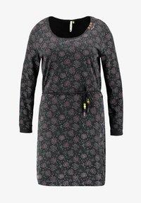 Ragwear Plus - PELIADA ORGANIC DRESS - Kjole - black - 3
