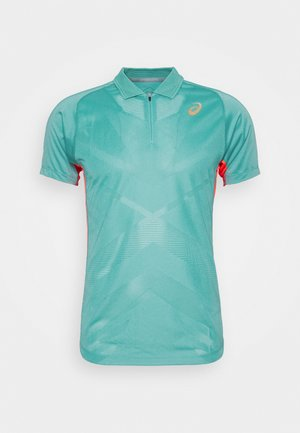 TENNIS - T-shirt sportiva - techno cyan