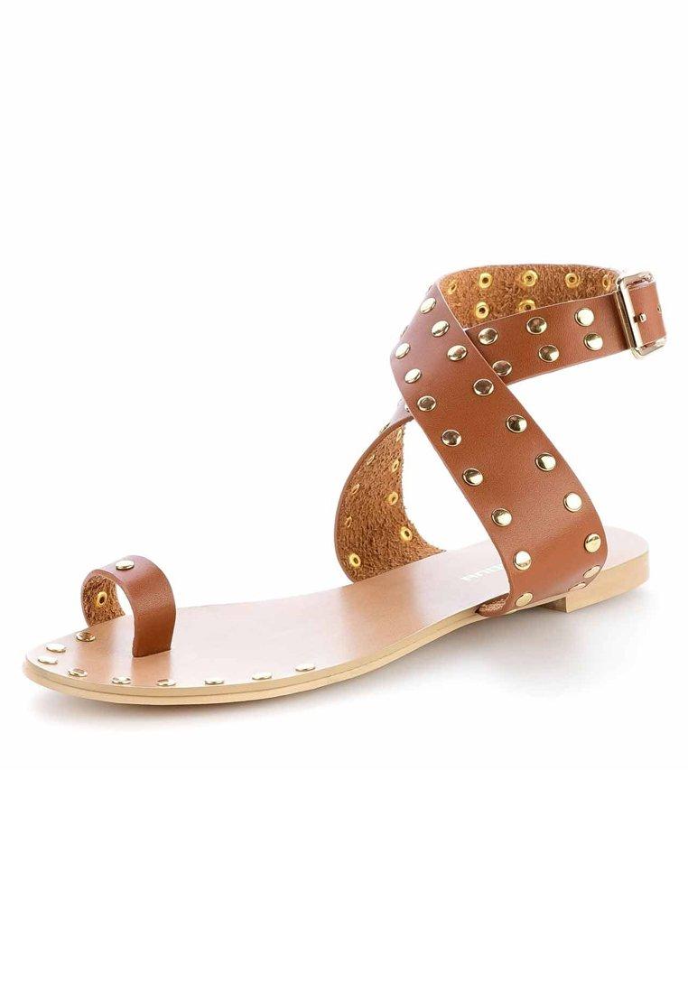 Il più venduto Scarpe da Donna PRIMA MODA GARGNANO Sandali brown