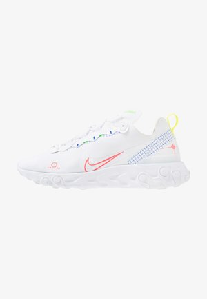 REACT 55 - Zapatillas - white/laser crimson/racer blue/green strike/lemon/black