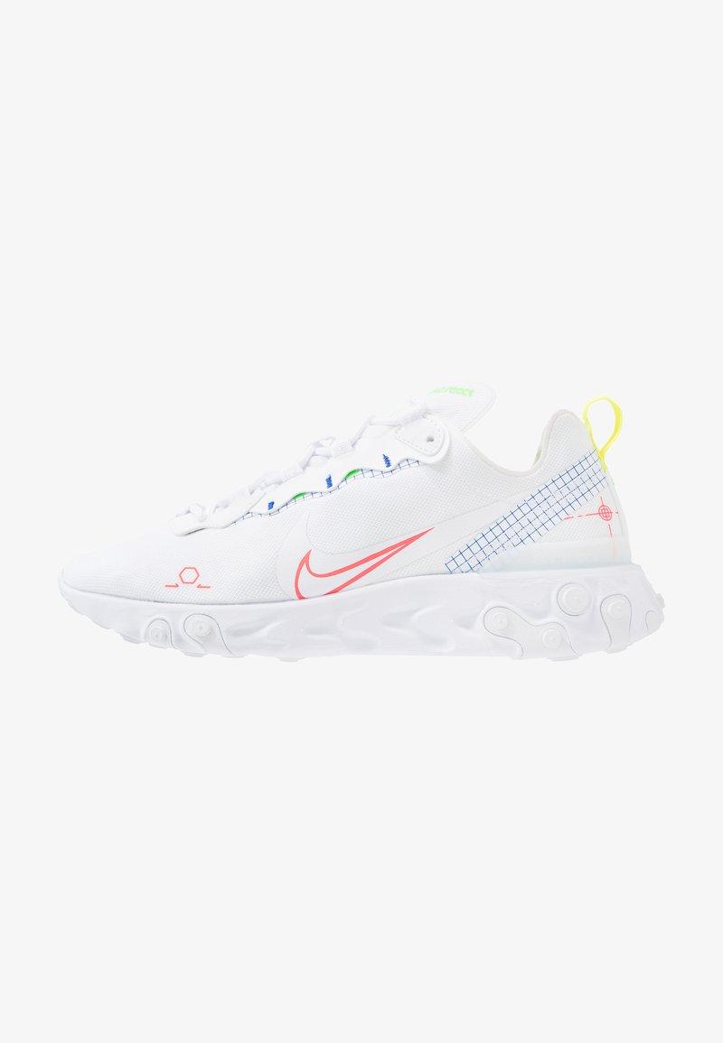 Nike Sportswear - REACT 55 - Sneakers - white/laser crimson/racer blue/green strike/lemon/black