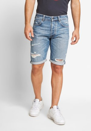 CALLEN - Denim shorts - blue denim