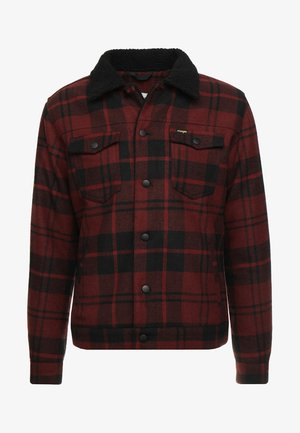 TRUCKER - Light jacket - madder brown