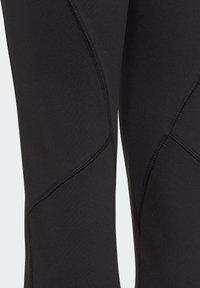 adidas Performance - G A.R. W ASK T - Leggings - black/msilve - 4