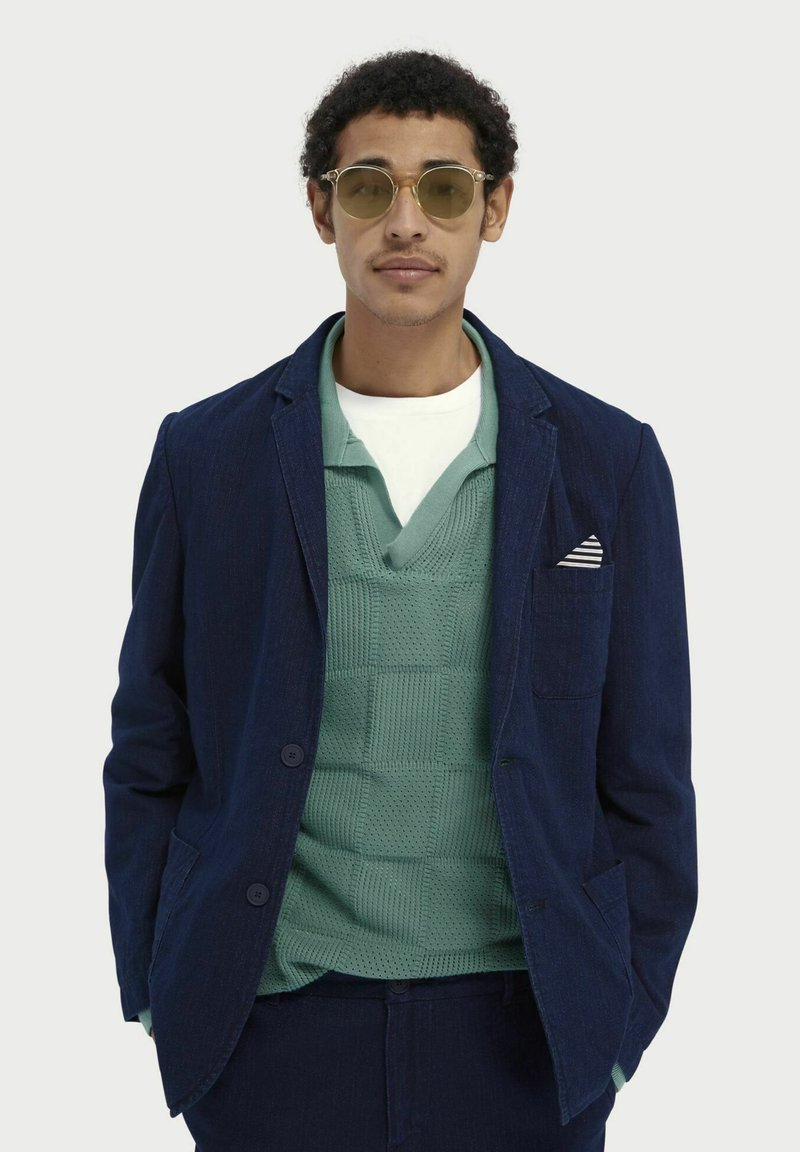 Scotch & Soda - Blazer jacket - indigo