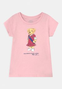 Polo Ralph Lauren - BEAR - Print T-shirt - hint of pink - 0