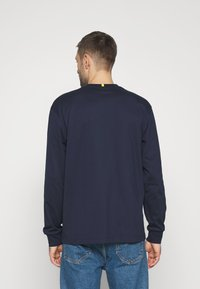 Lacoste - LACOSTE X NATIONAL GEOGRAPHIC - Long sleeved top - navy blue/zebra - 2