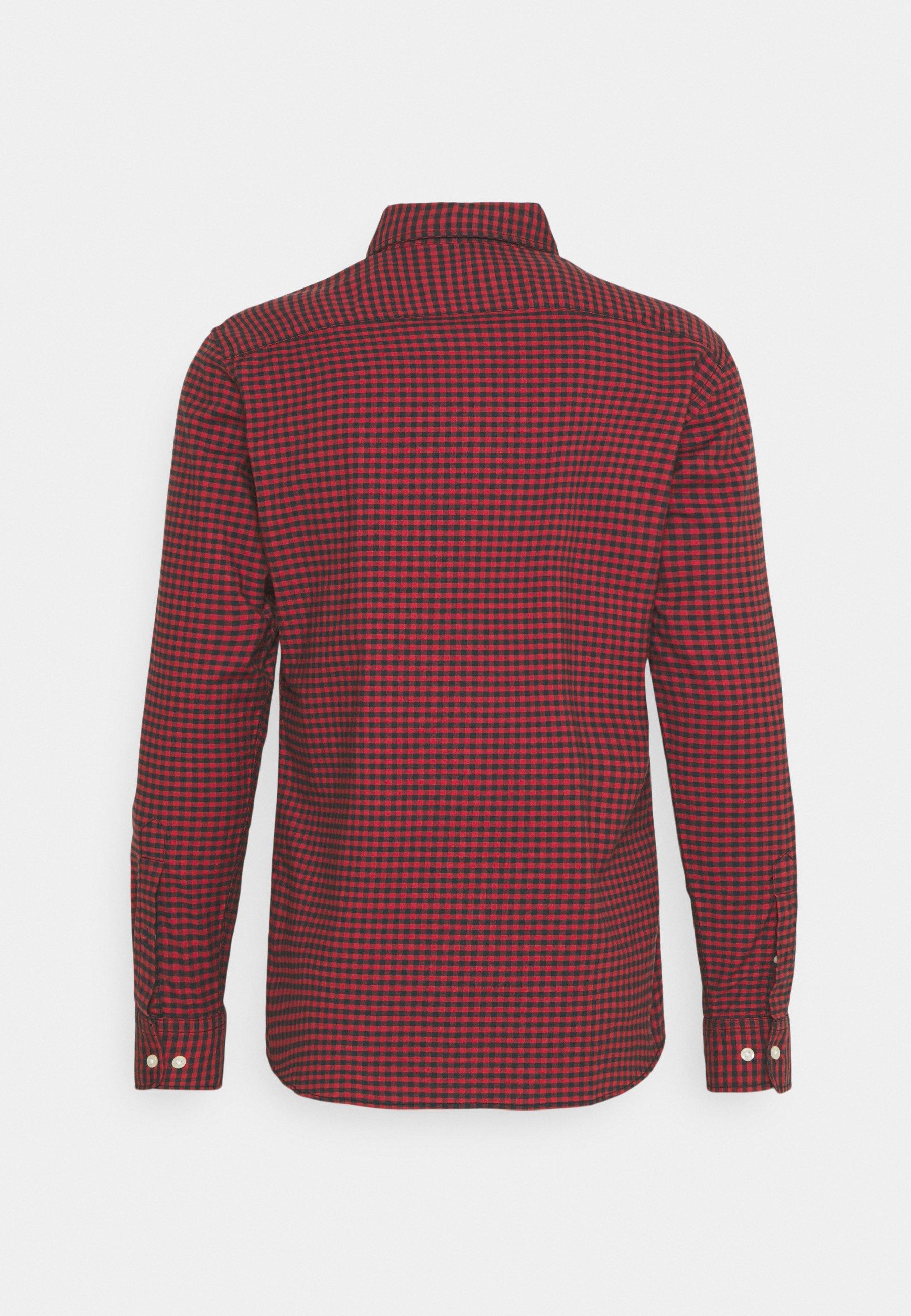 Men JPRBLUBROOK GINGHAM SHIRT - Shirt