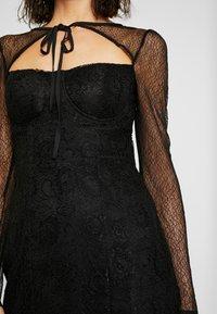 Fashion Union - CECILLE - Koktejlové šaty/ šaty na párty - black - 4