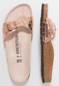 Birkenstock - MADRID - Chaussons - gator gleam copper - 3