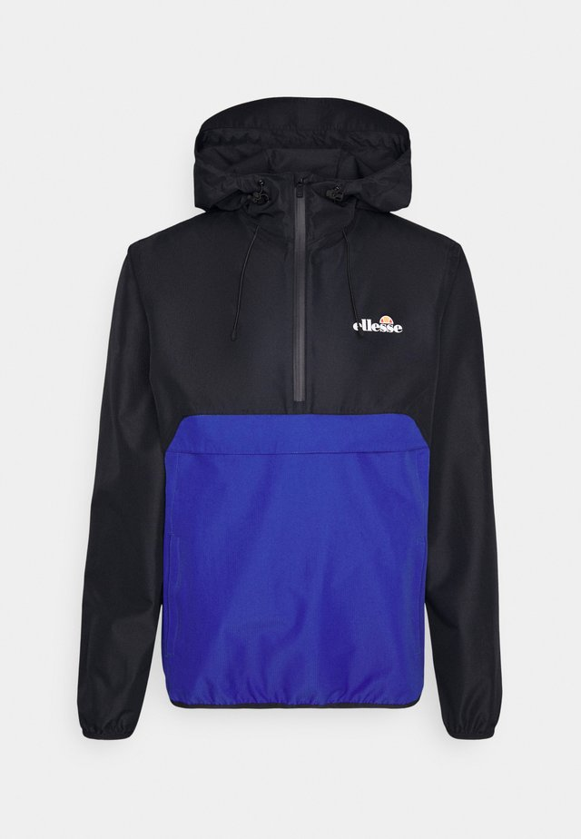 POLTERINI - Windbreaker - black/blue