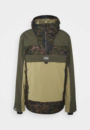 QUEST - Snowboard jacket - olive