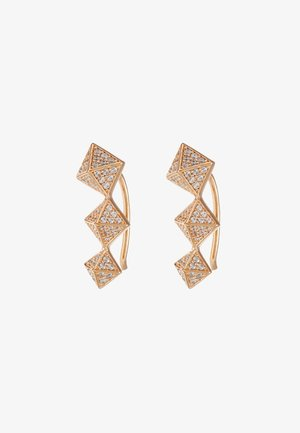 PREMIUM - Earrings - rose gold-coloured