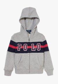 Polo Ralph Lauren - HOOD - Bluza rozpinana - andover heather - 0