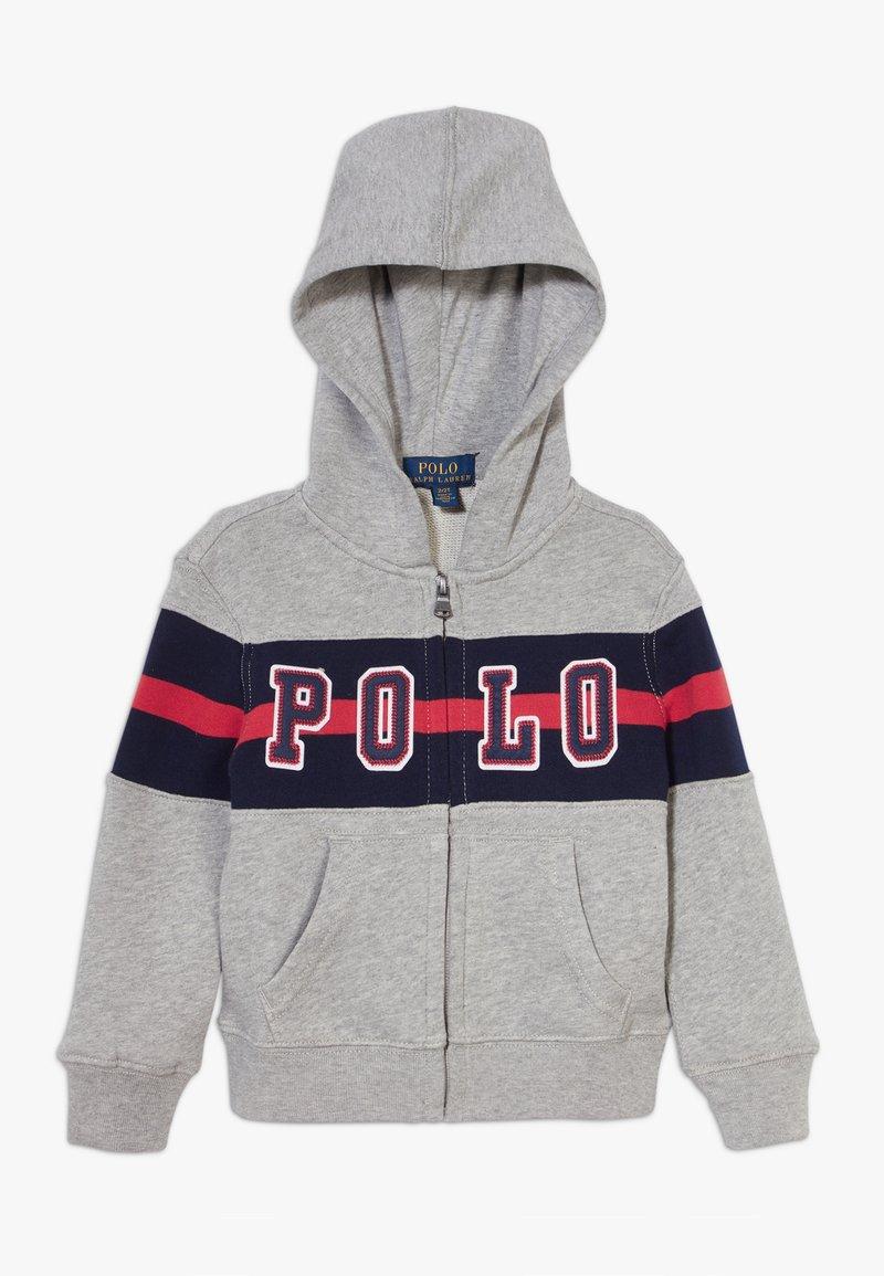 Polo Ralph Lauren - HOOD - Bluza rozpinana - andover heather