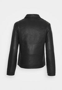 Zadig & Voltaire - LUK BONDED - Leather jacket - noir - 1