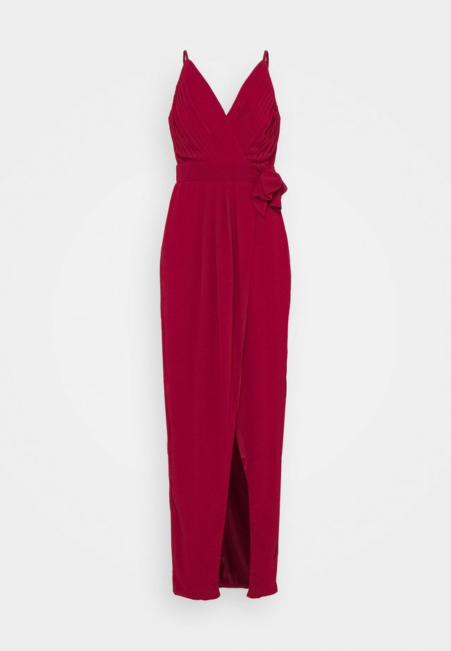 HAZE MAXI - Occasion wear - dark red