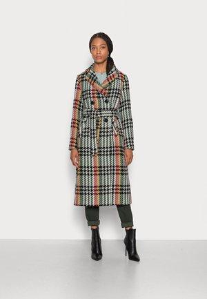 ROBIN COAT LEMAIRE CHECK - Classic coat - spar green