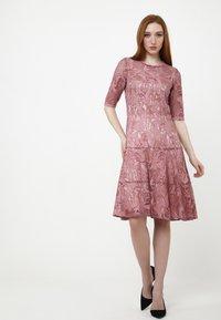 Madam-T - Cocktail dress / Party dress - rosa - 3