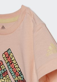 adidas Performance - LOGO T-SHIRT - T-shirt print - pink - 6