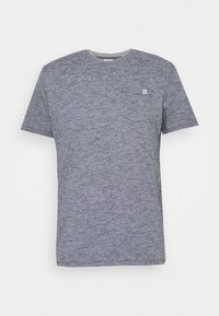 FINELINER WITH POCKET - Print T-shirt - dark blue stripe