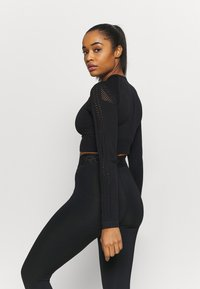 Even&Odd active - Long sleeved top - black - 2
