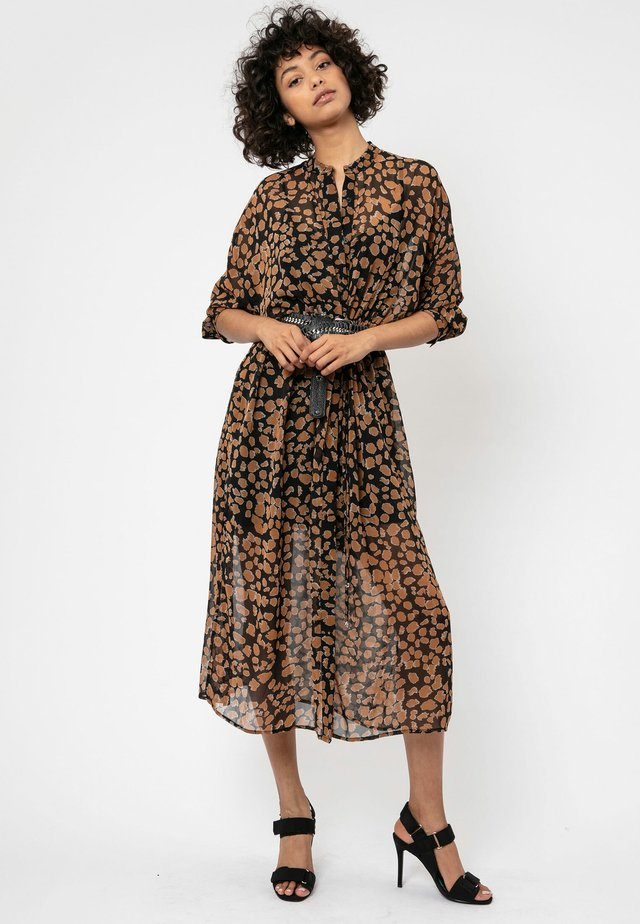 DUSK - Shirt dress - brown