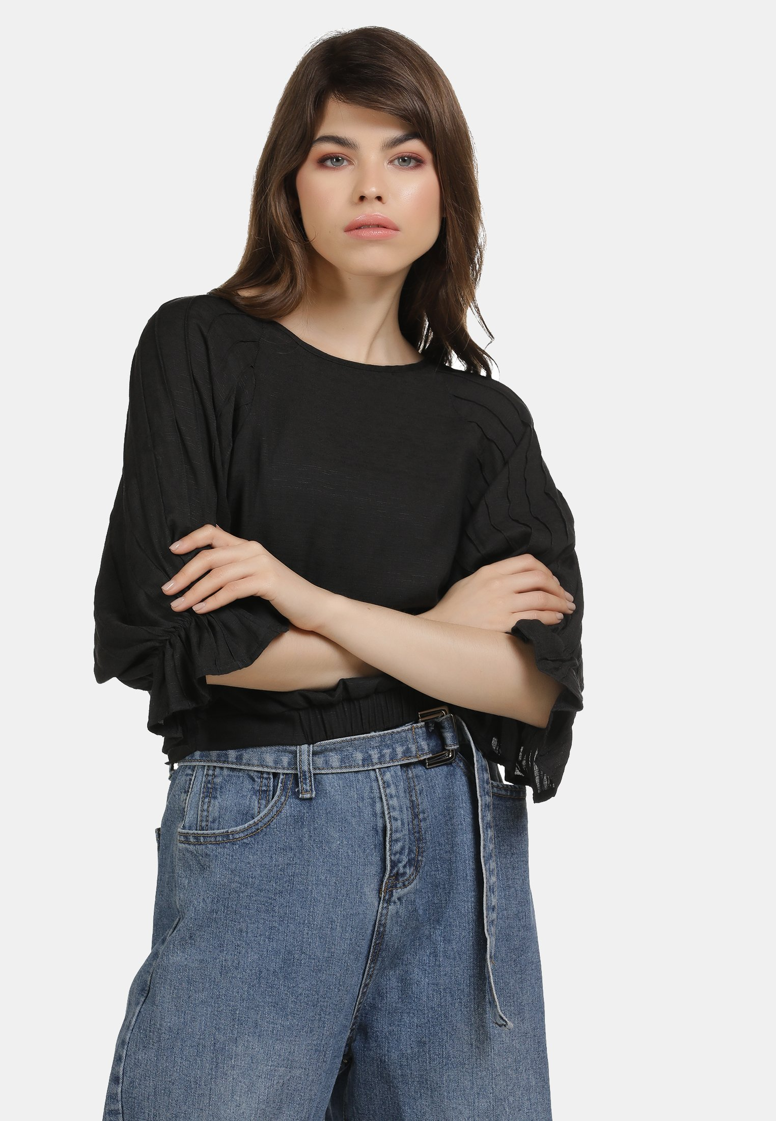 Low Cost Women's Clothing myMo Blouse schwarz mqXewalY6