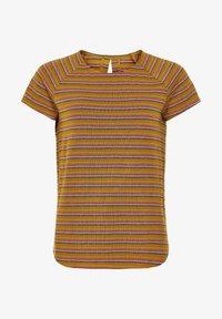 Nümph - NUBUNTY - Print T-shirt - buckthorn brown - 2